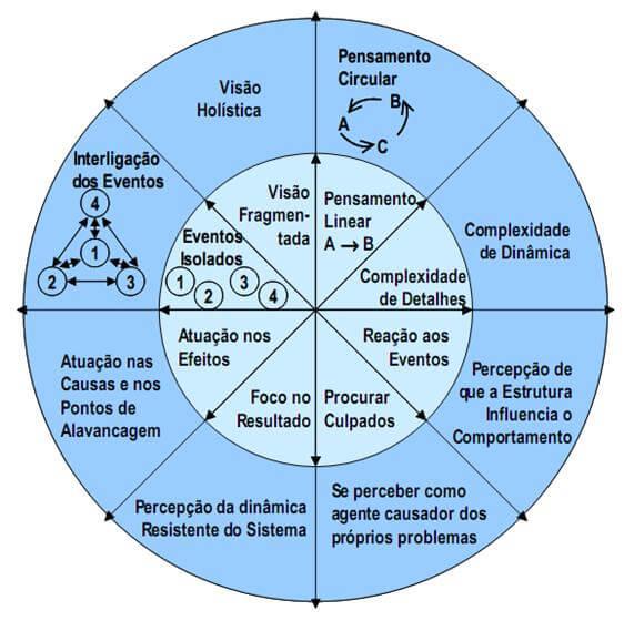 O que é pensamento sistêmico nas organizações